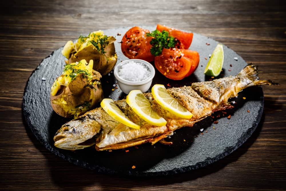 Dish of Colombian Trout