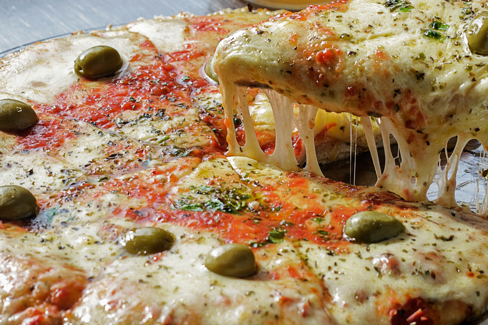 Cheesy Slice of Argentinian Pizza Pie