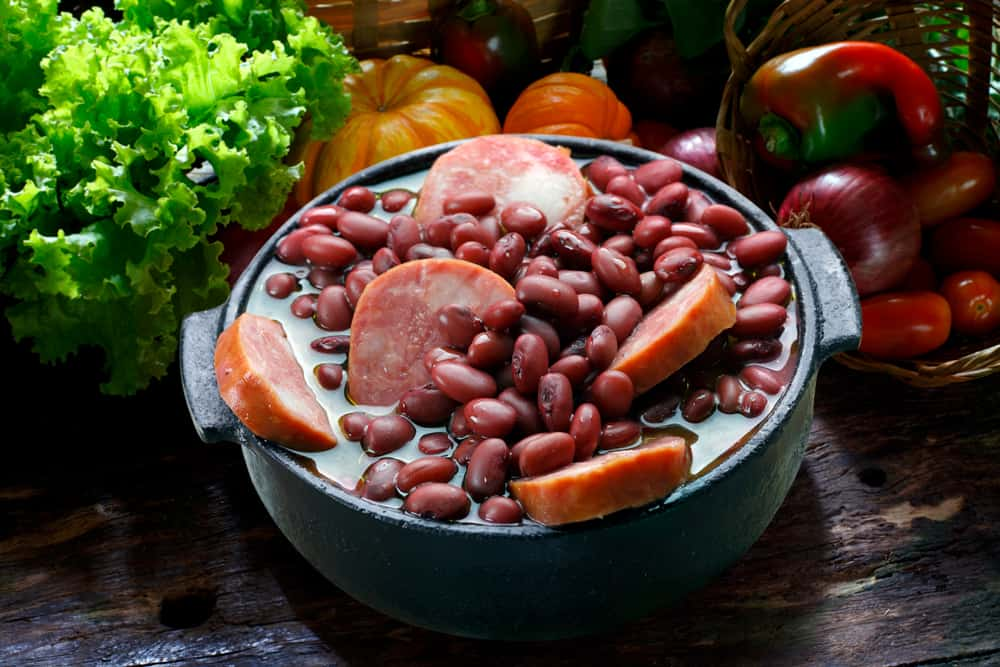 Bowl of Brazilian Black Beans