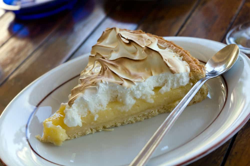 Slice of Pie de Limon