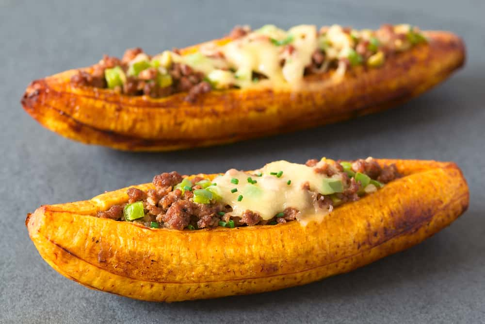 Plantain Canoes