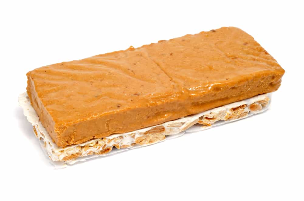 Spanish turron jijona and alicante bars