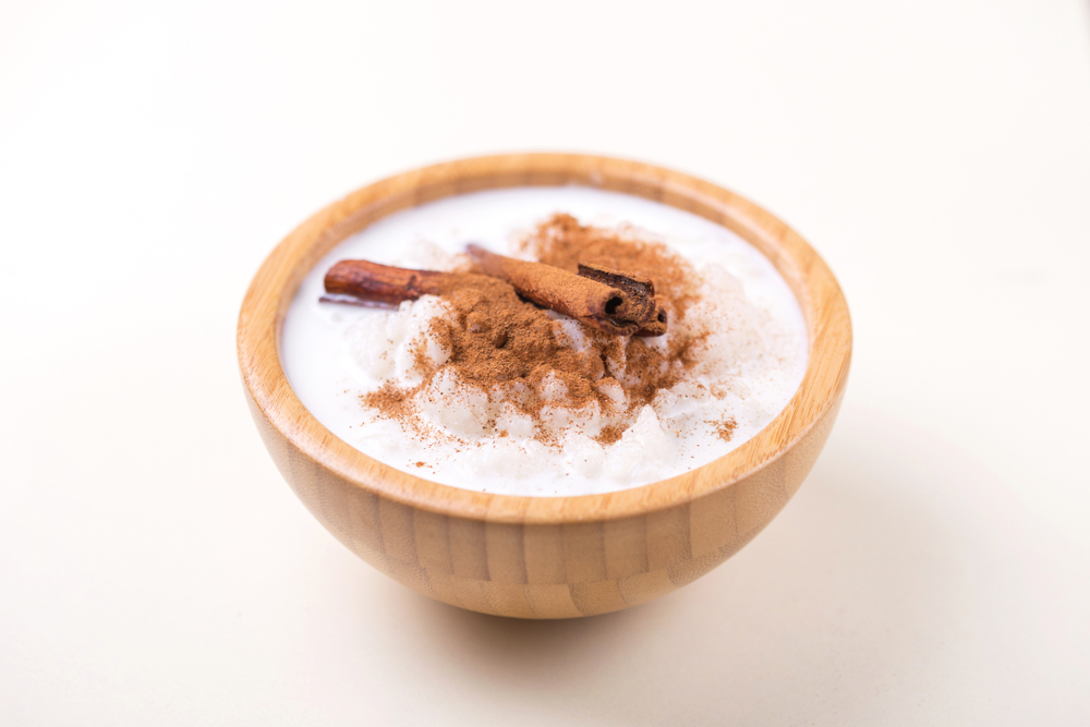 Bowl of candida with cinnamon