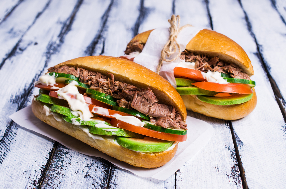 Churrasco Chilean Steak Sandwich