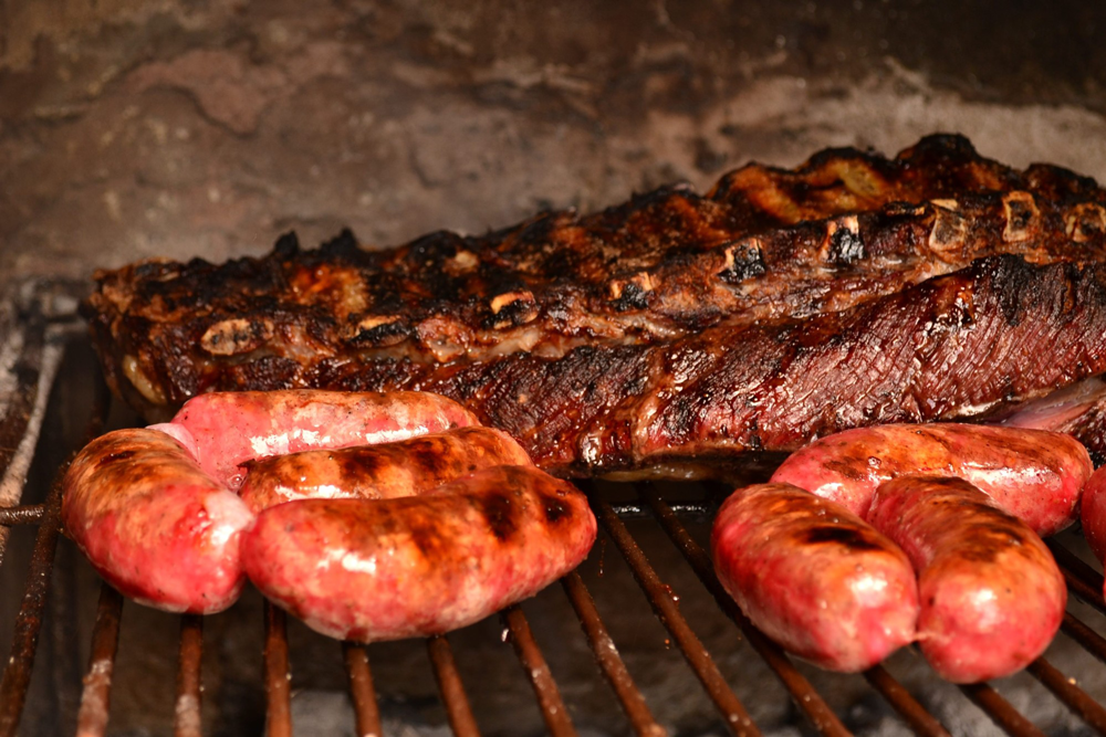 Grill of assorted Patagonia meats