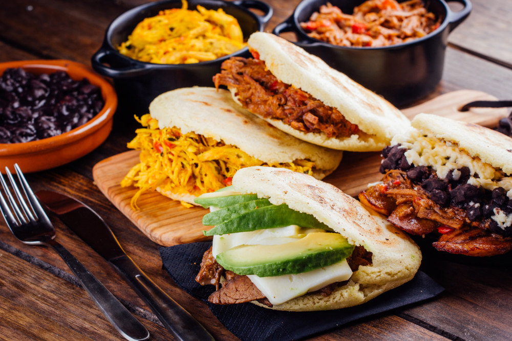 What Are Colombian Arepas