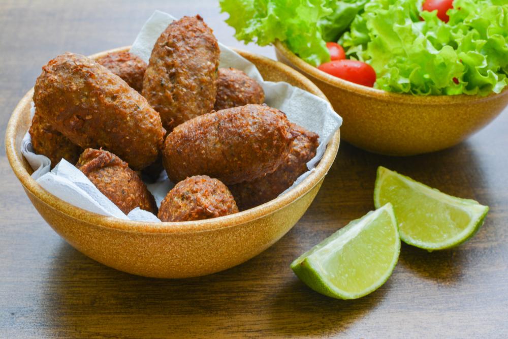 Kibe Brazilian Snacks in a bowl