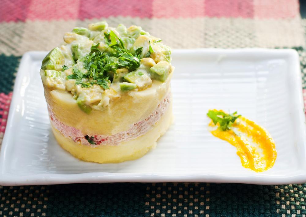 Peruvian Salad Causa