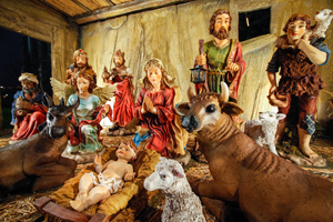 Colombian Nativity Scene