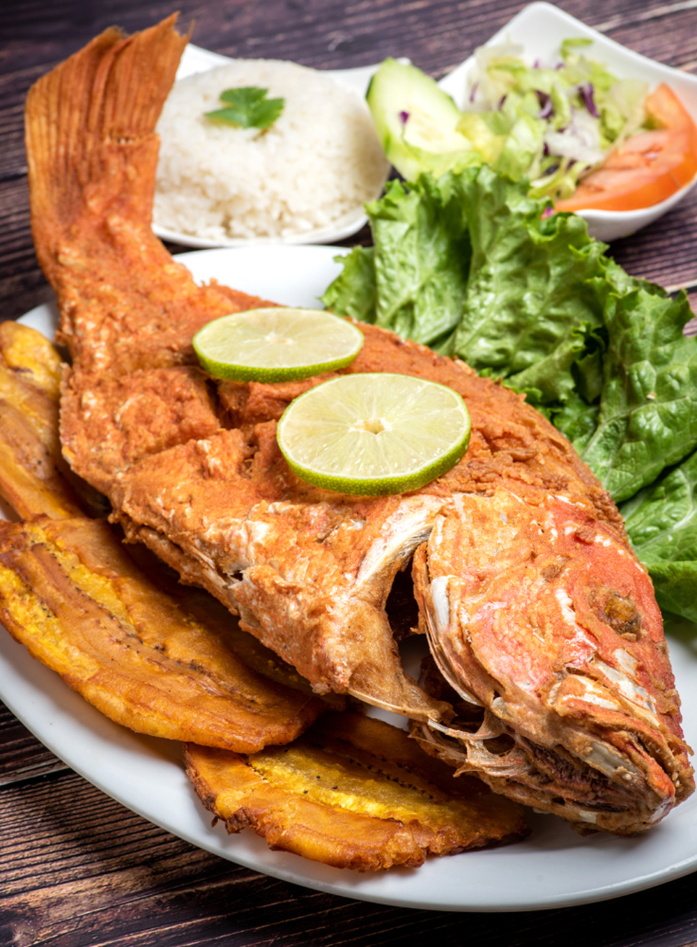Pargo Frito Fried red Snapper