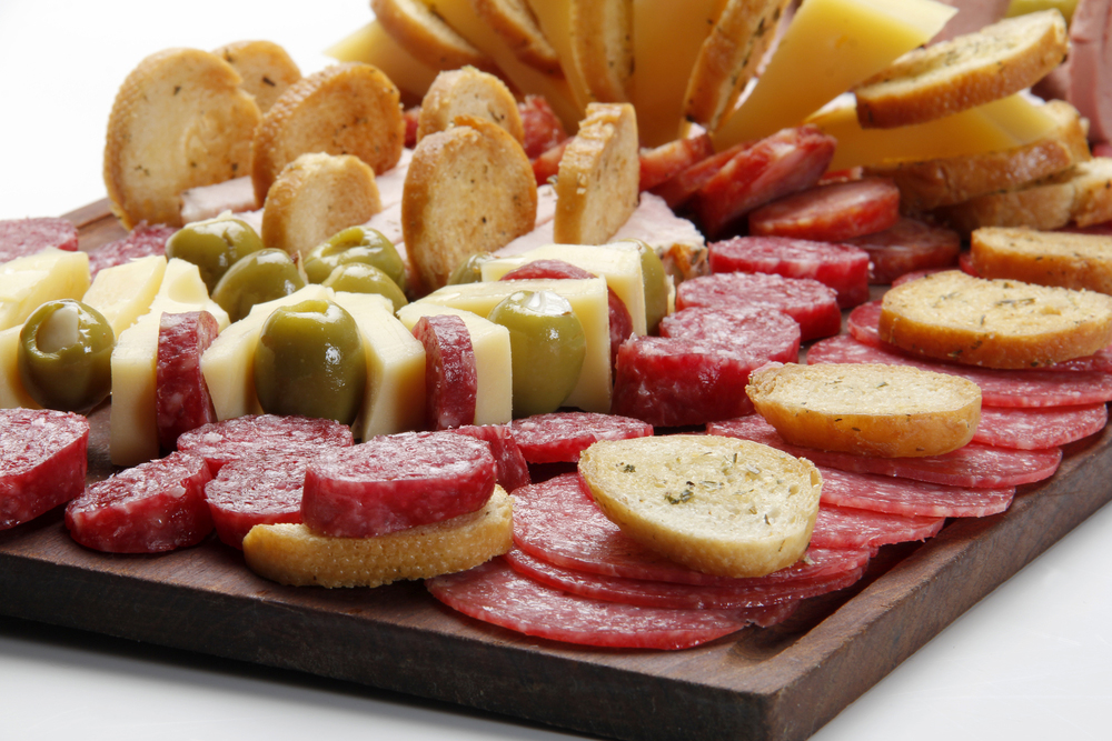 Argentinian Picada Cheese and Cracker Platter