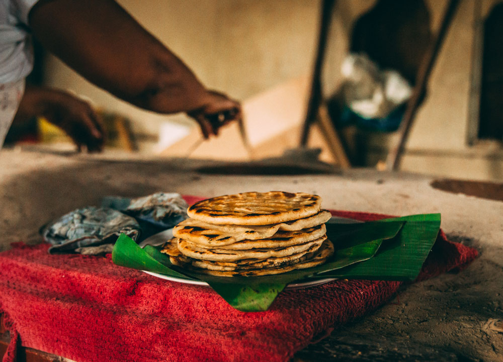 Chorreadas Costa Rican corn pancakes