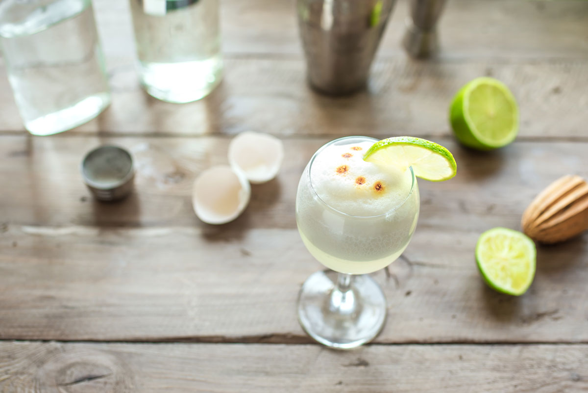 Pisco Sour With Egg Whites