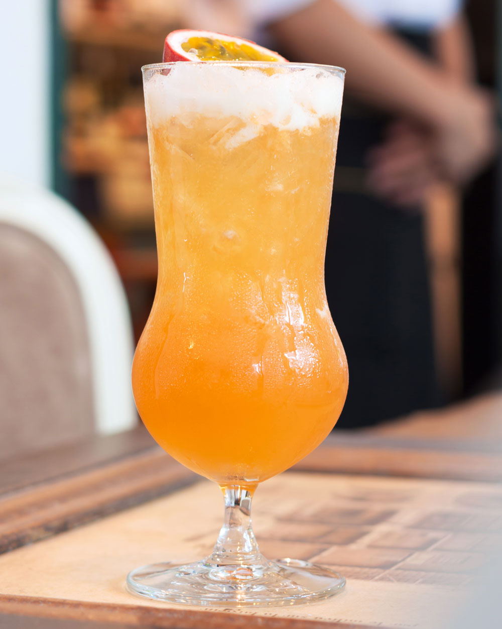 Paraguay Passion South American cocktail