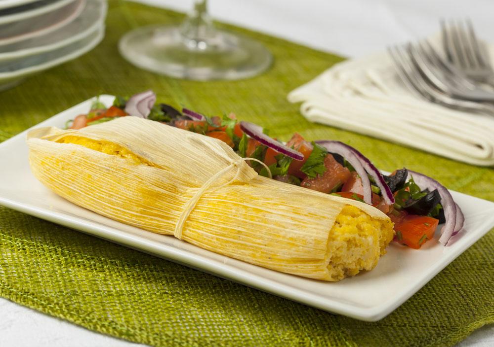 Peruvian Breakfast Humitas