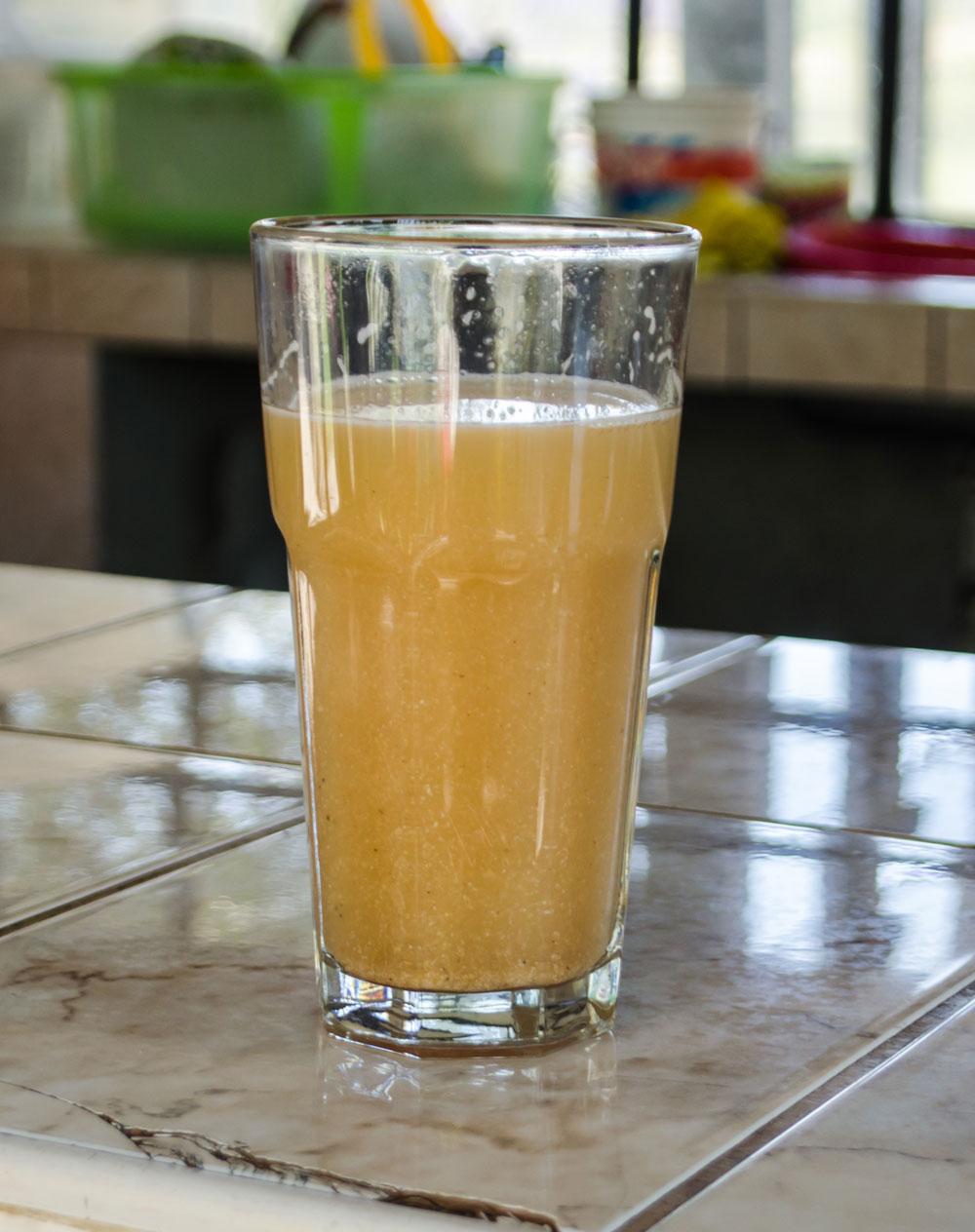 Peruvian Drink Chicha de Jora