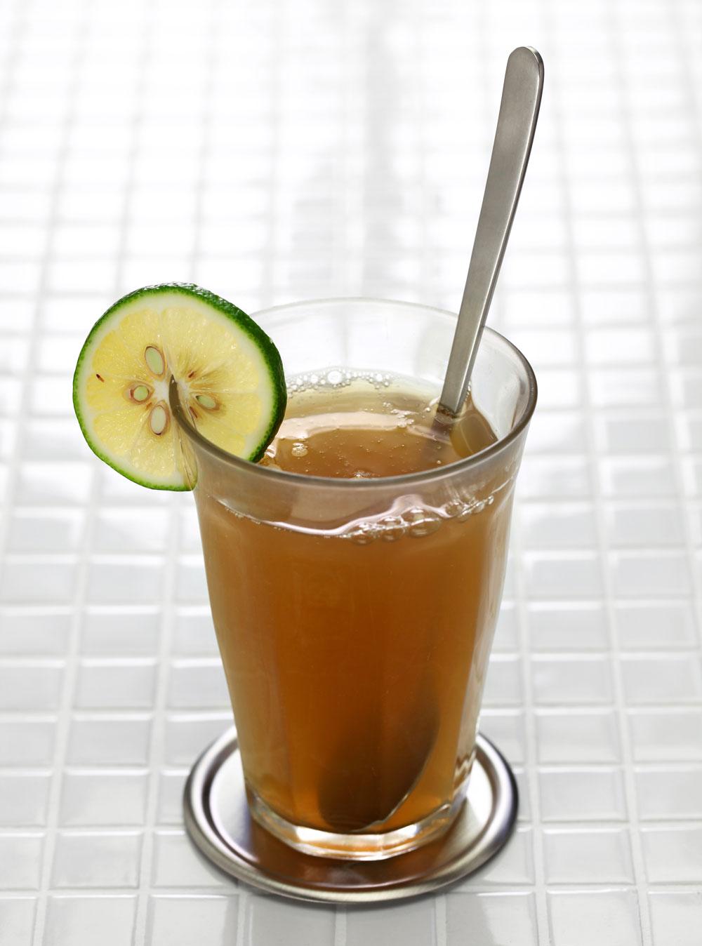 Emoliente drink from Peru