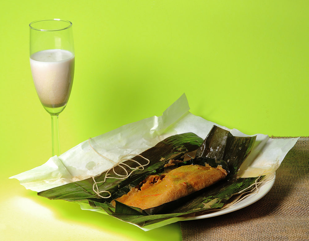 Coquito and Pasteles from Puerto Rico