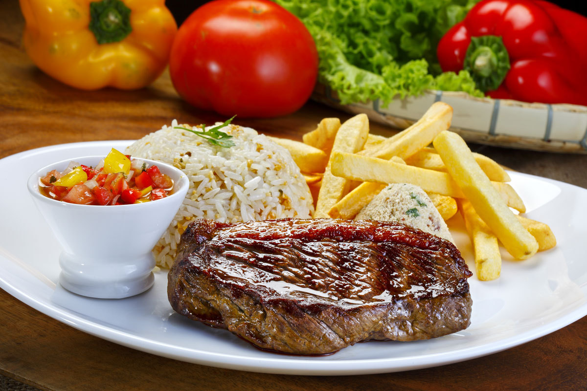 Brazilian Picanha Steak Meal
