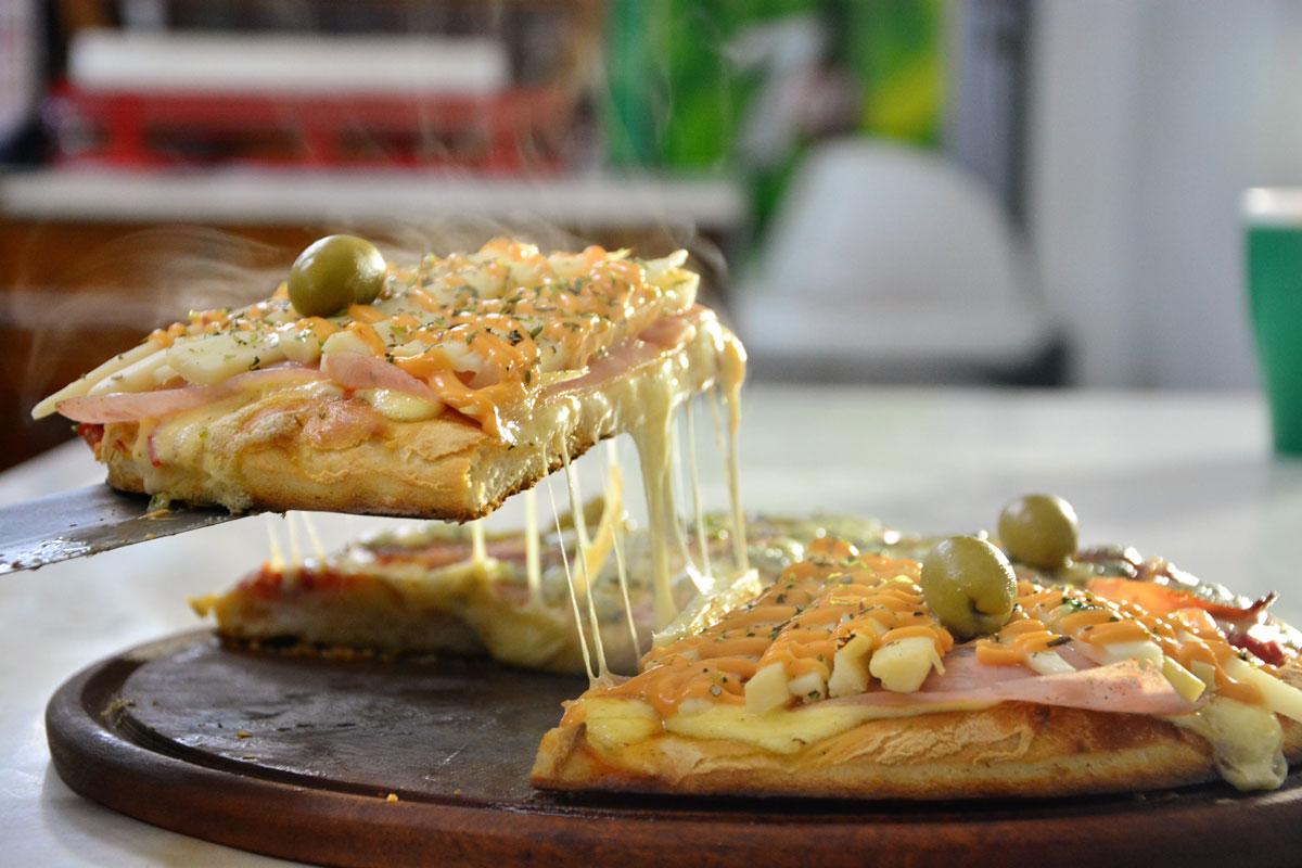 Argentinian Pizza Fugazzeta