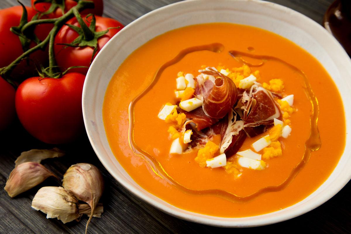 Salmorejo Spanish Puree Dish