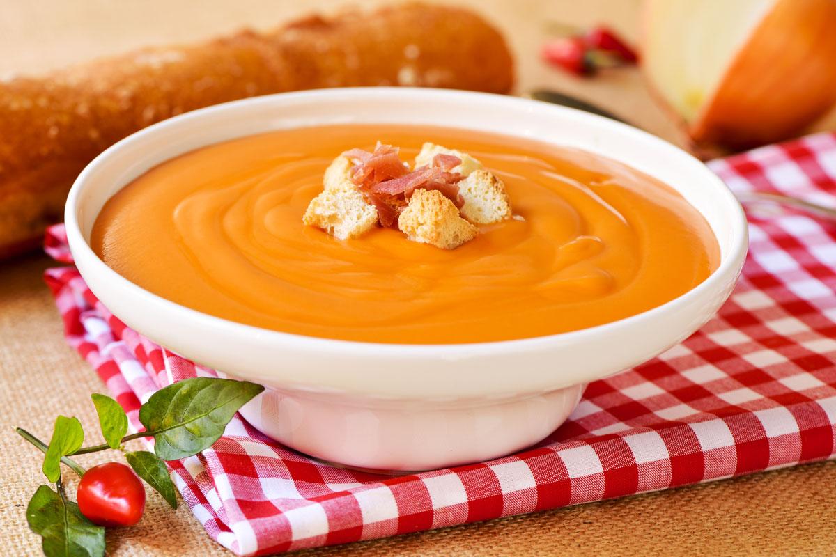 Salmorejo Spanish Soup Dish