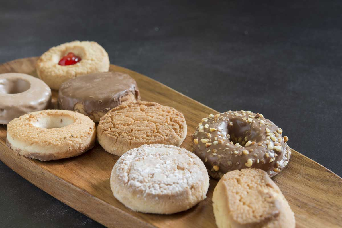 Assorted Polvorones from Spain