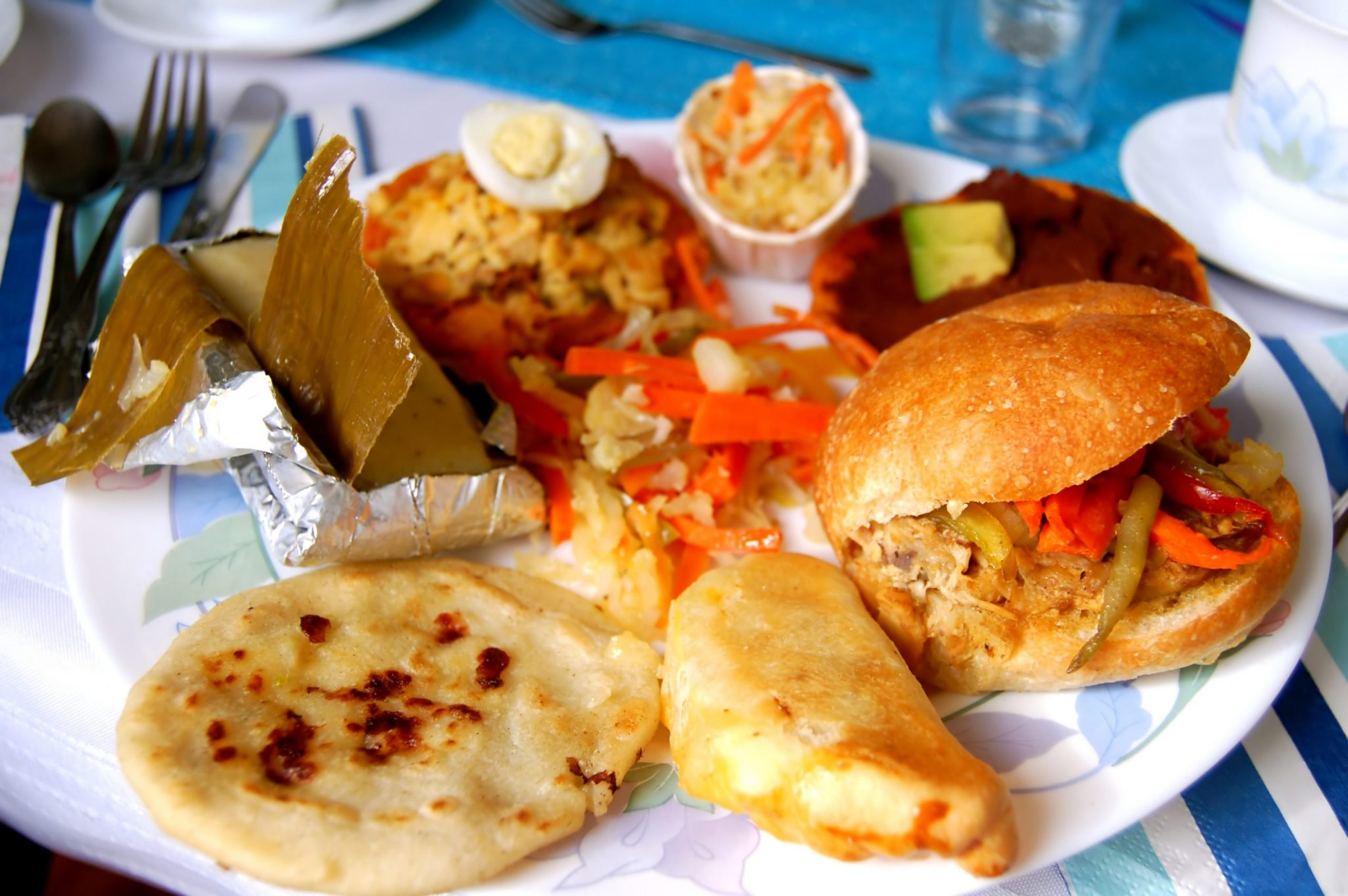 Salvadoran Food Dishes