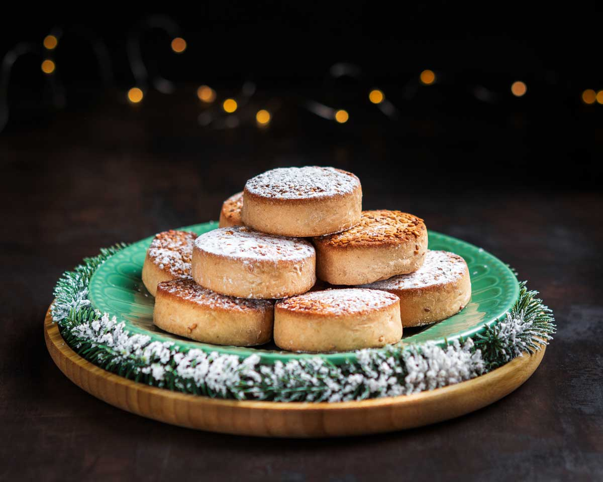 Spanish Polvorones Christmas Cookies