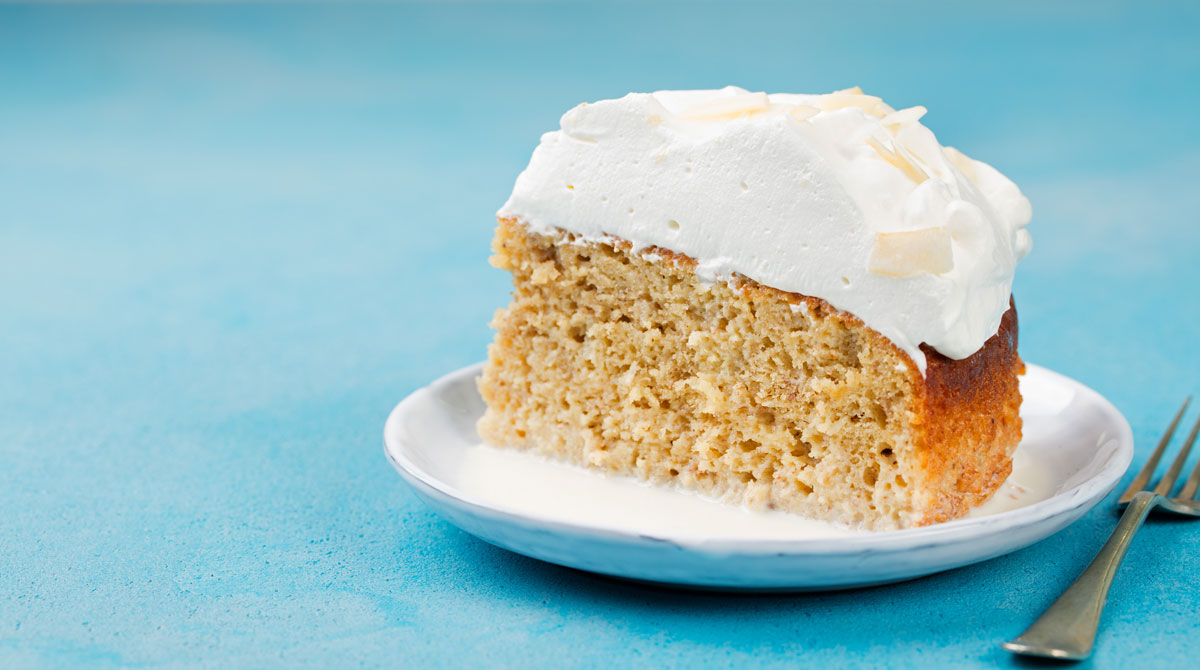 Traditional Cuban Dessert Tres Leches Cake
