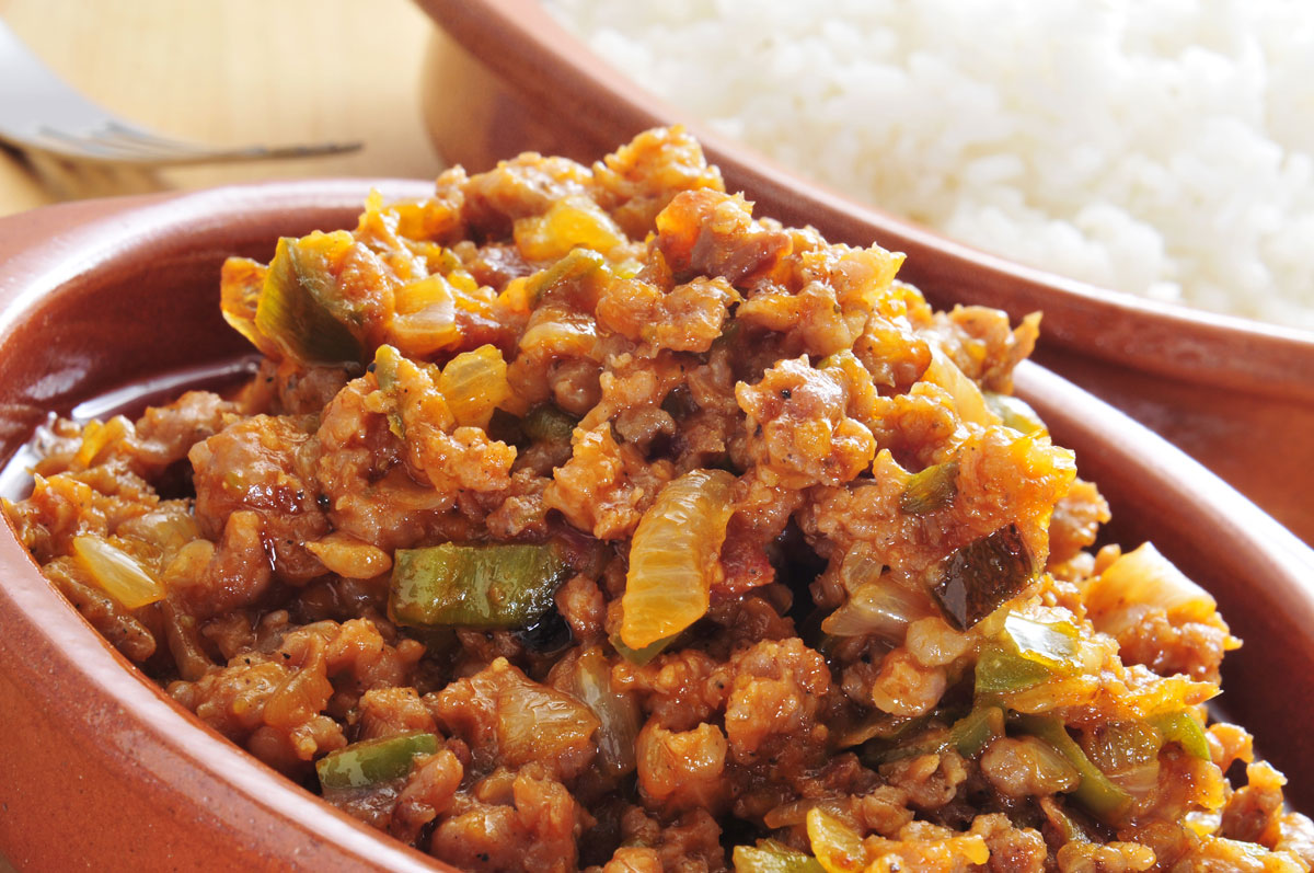 Picadillo Cuban Food